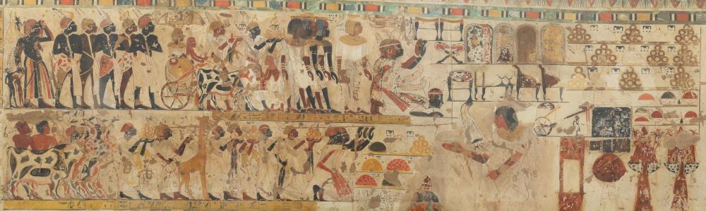 Huy king's son of kush vizier tomb tt40 thebes thevan New Kingdom B.jpg