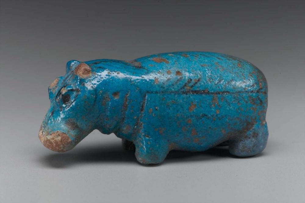 Kush Middle Kerma faience hippo.jpg
