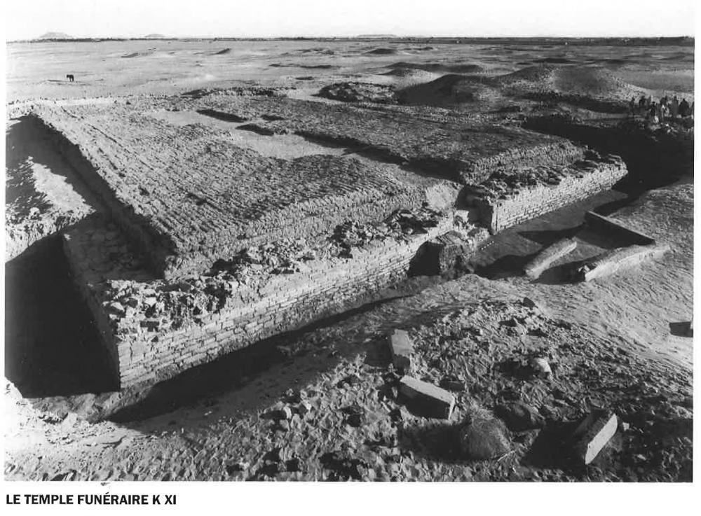 Kerma classic Kingdom of Kush Kushite temple funerary chapel K XI.jpg
