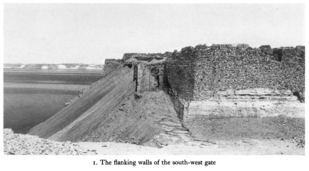 Qasr Ibrim Ruins Lower Nubia Southern Egypt Nubian gate.jpg
