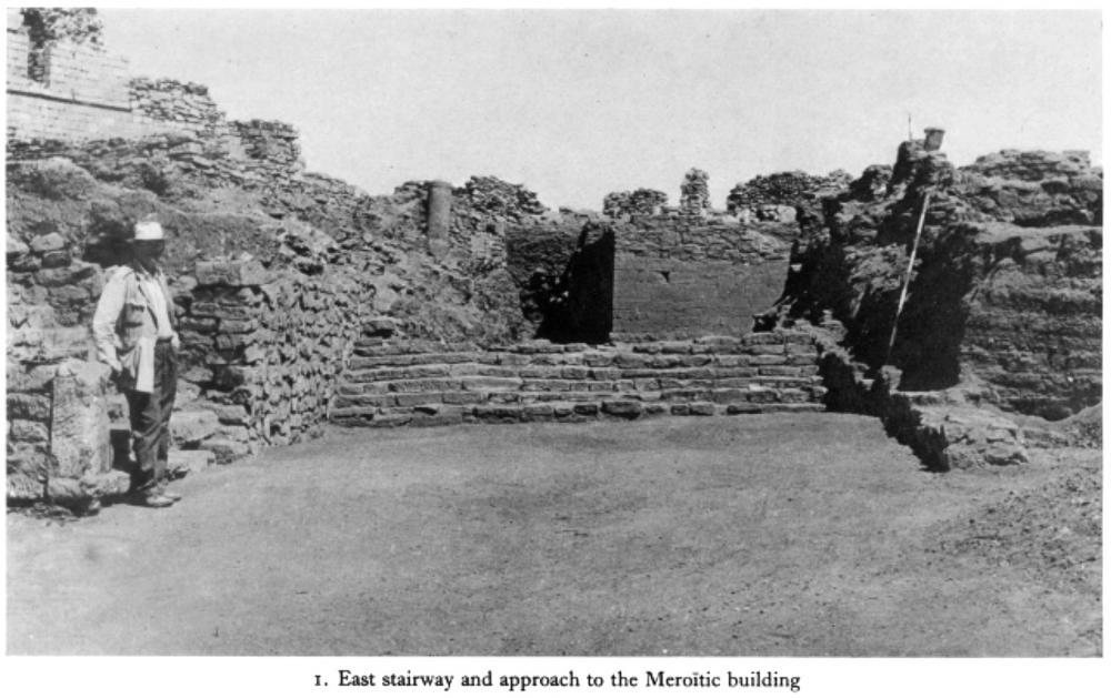 Qasr Ibrim Ruins Lower Nubia Southern Egypt Nubian stairway Meroitic building.jpg