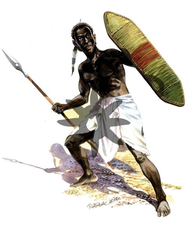 Warrior from Sudan- II Century AD- Encounters with Rome. II century AD.jpg