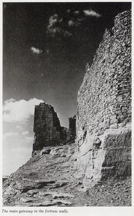 Gateway of Qasr Ibrim fortress walls Lower Nubia Kush Kushite South Egypt.jpg