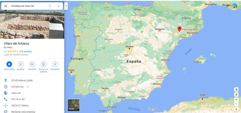 Vilars de Arbeca - Google Maps - Google Chrome 20_01_2021 22_13_11.png