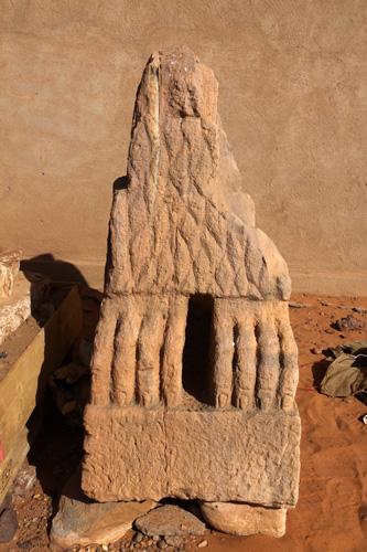 Kingdom of Kush Kushite stone lion statue broken 2010-02-16-15-23-09_0302.jpg