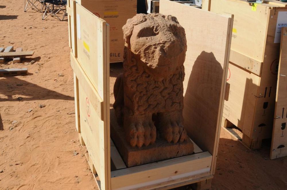 Naqa stone lion Kush Kushite Meroitic history 11-01-26_naga_transport_6.072053010d25c0f6a80be30440ad1634.jpg
