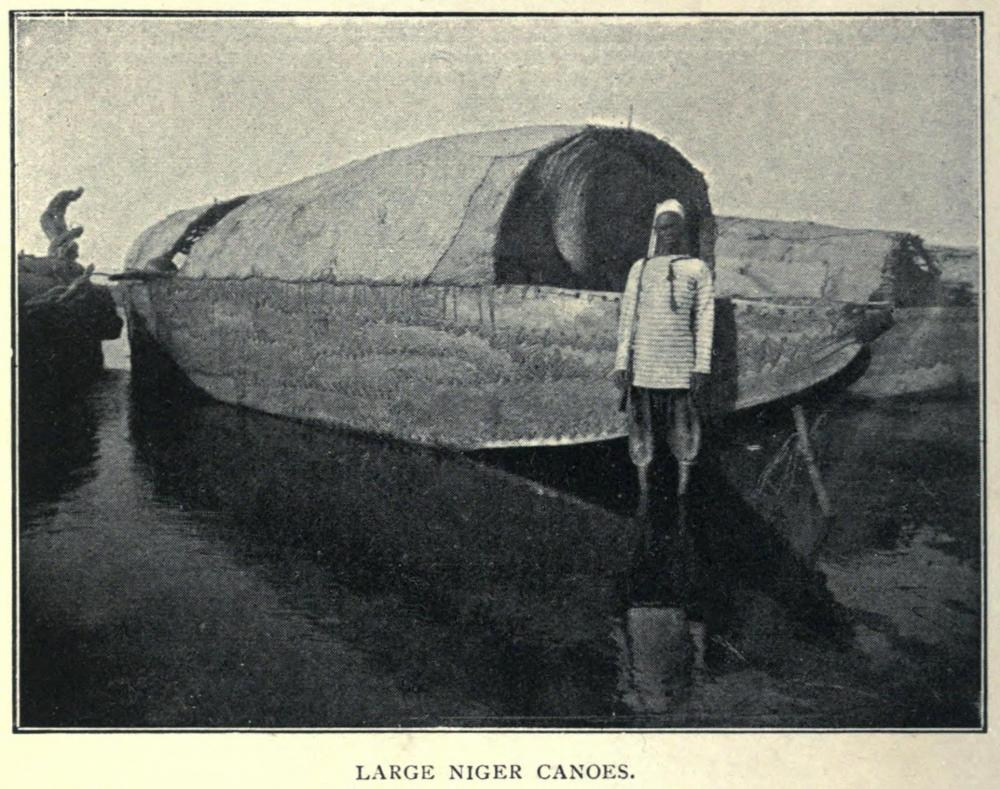 Niger river Mali sewn boat ship canoe water vessel craft africa pre colonial history naval.jpg