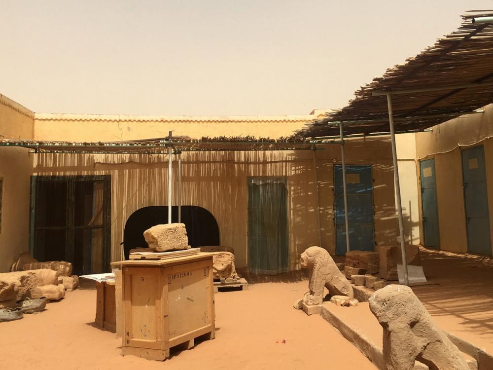 Naqa stone lions Kingdom of Kush Kushite Meroitic history Sudan Africa statues naga-project-sudan-41.jpg