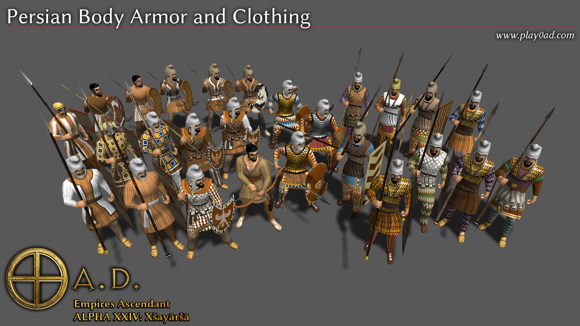 Persian Body Armor and Clothing