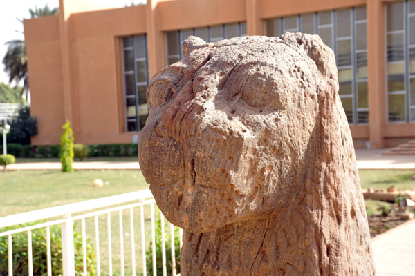 Kingdom of Kush Kushite Nubia Sudan Africa history lion statues stone sculpture 120837512.a59Gwgsb.SudanDec094484.jpg