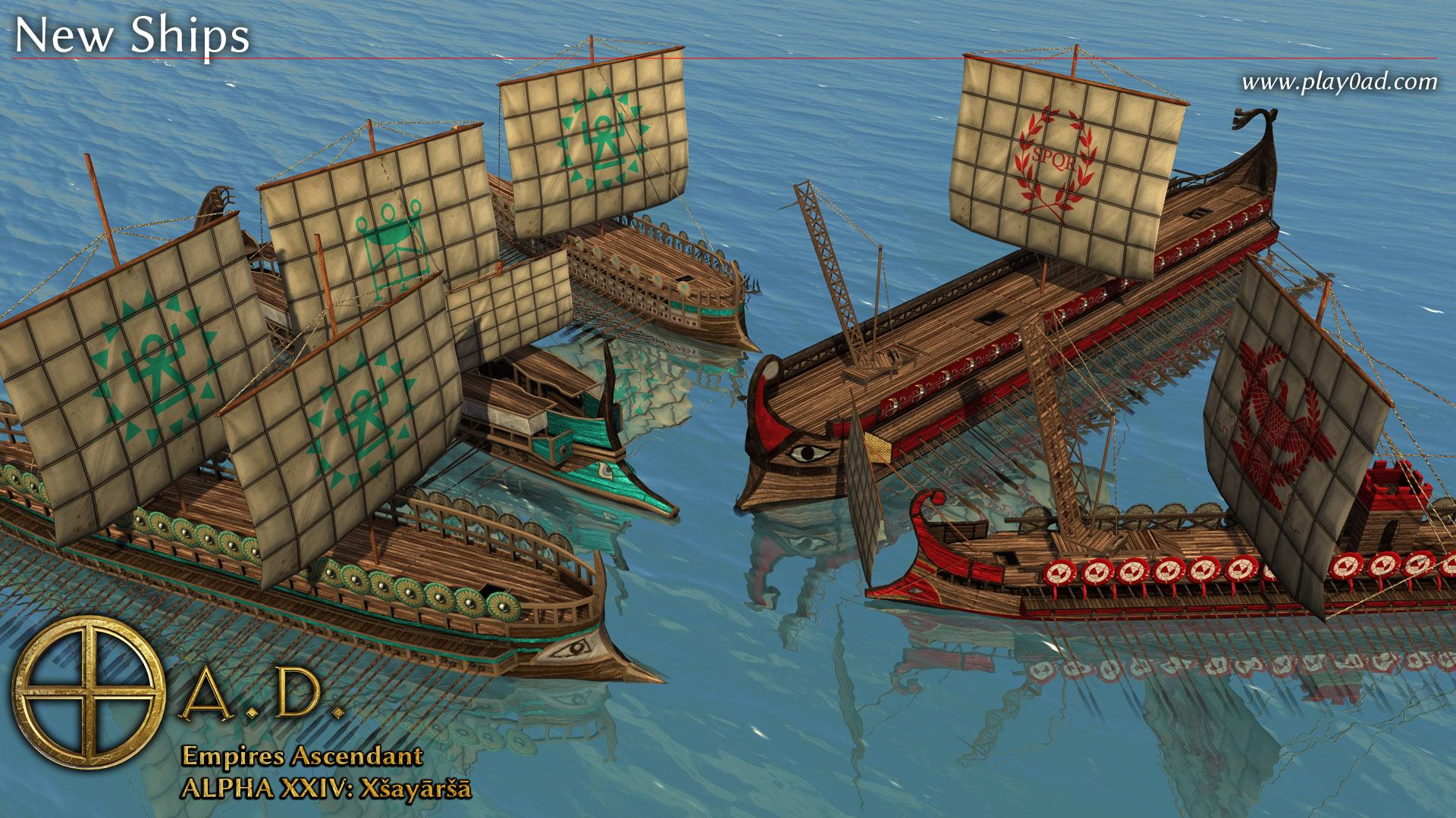 New Ships