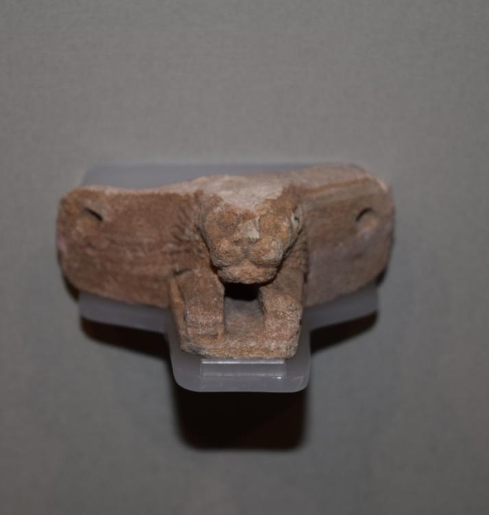 Lion headed spout Meroitic Kush Kushite lion temple.jpg