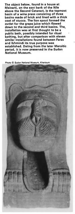 Kingdom of Kush Kushite stone lion sculpture press outlet spout.jpg