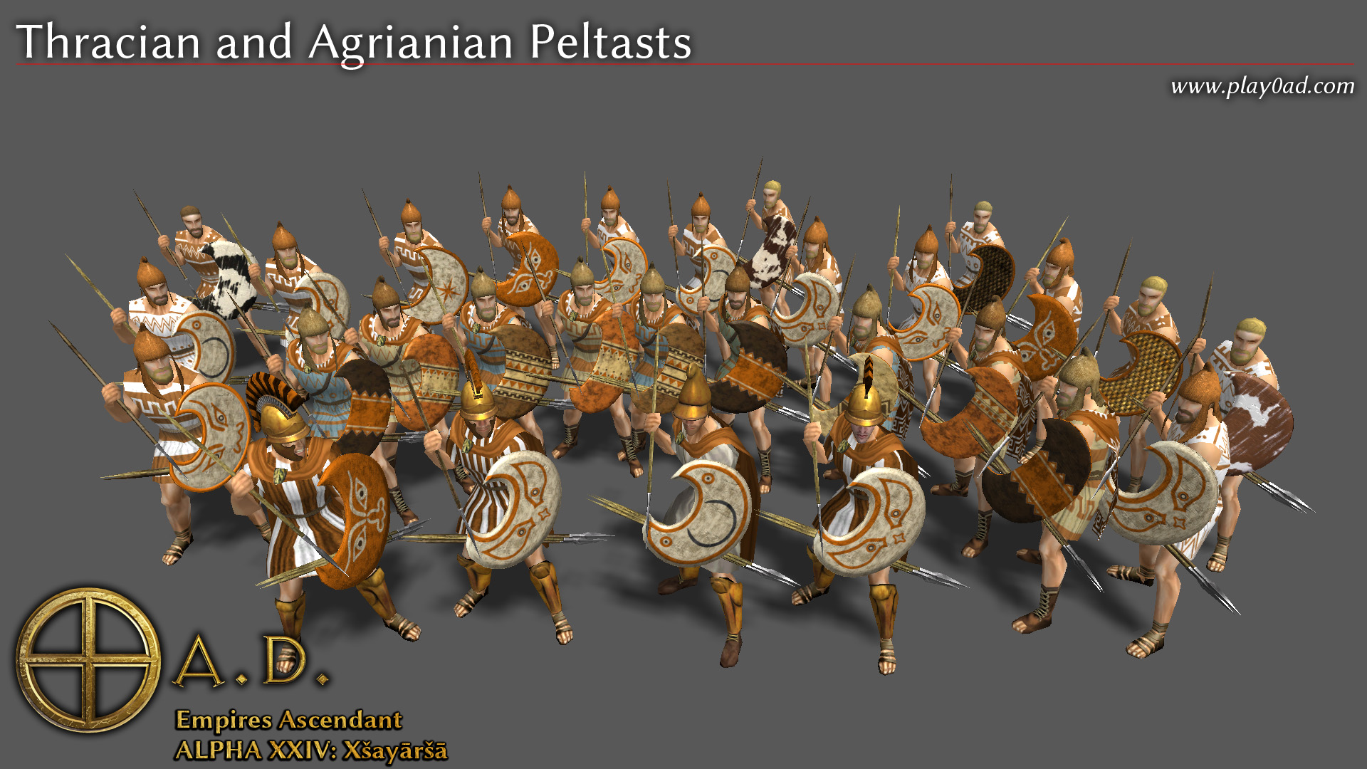 Thracian and Agrianian Peltasts