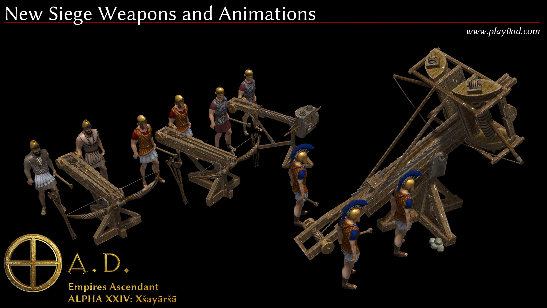 New Siege Weapons and Animations
