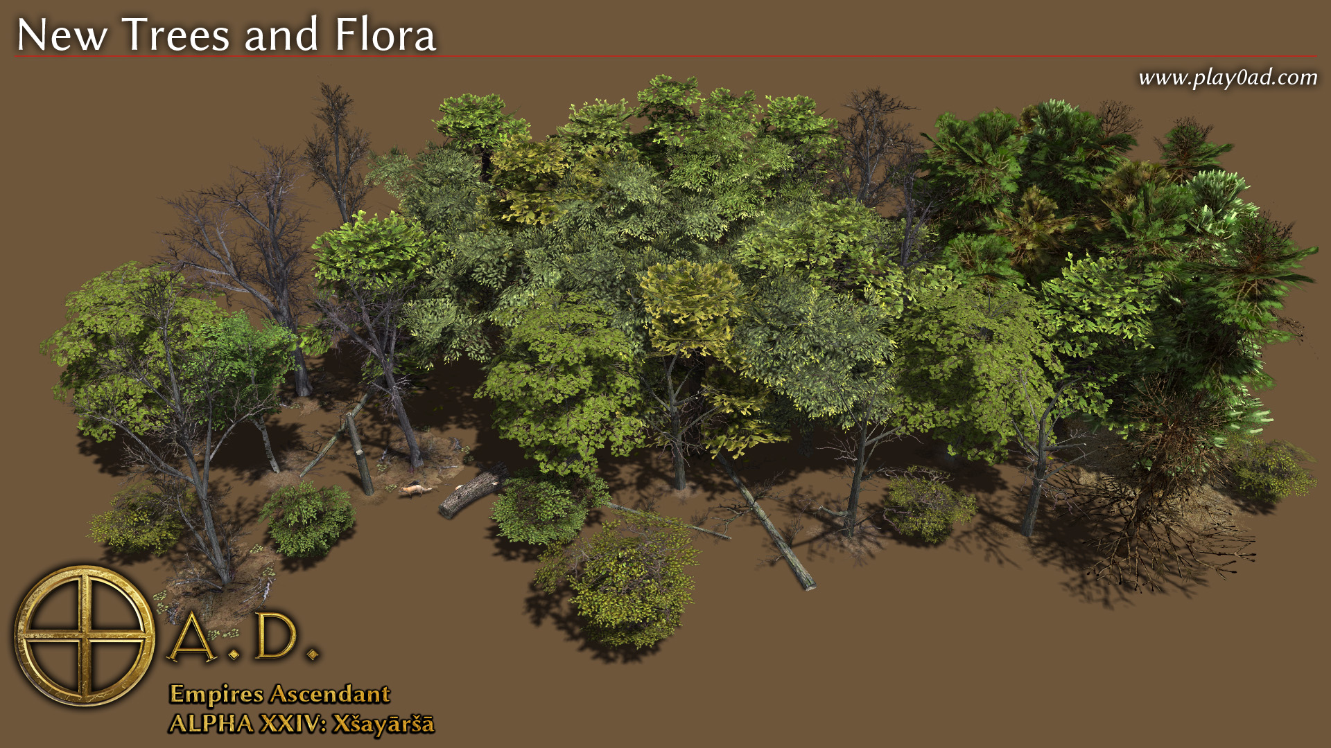 New Trees and Flora