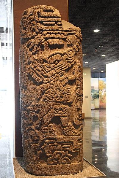 400px-Zapotec_Stone_Stele,_Building_E,_Monte_Alban.jpg